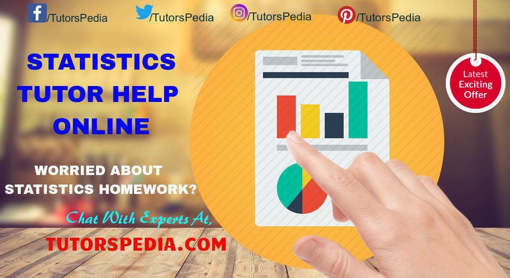 Statistics Tutoring Help Online